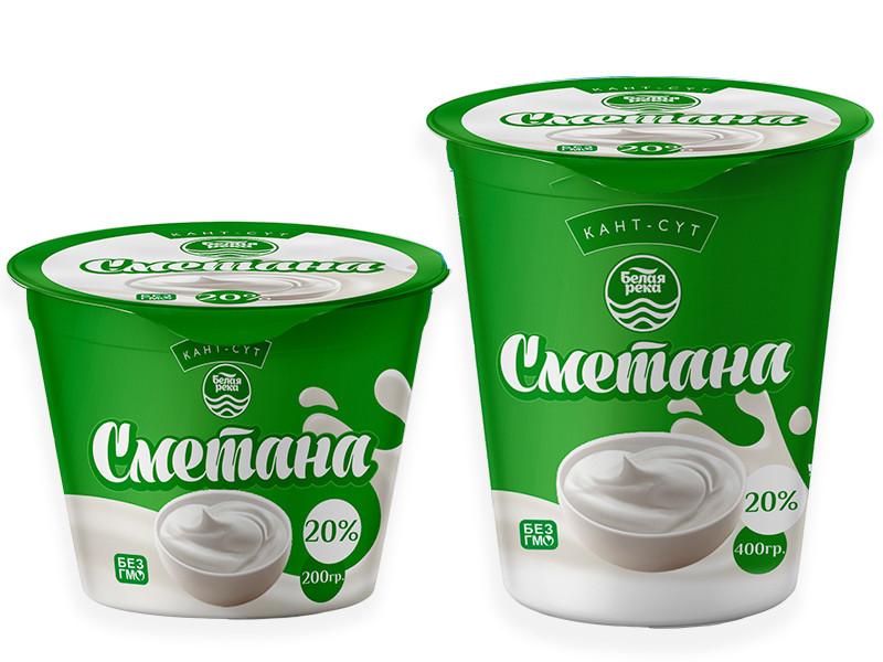 Sour cream 20%