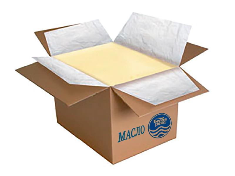 Масло сладко-сливочное в коробках