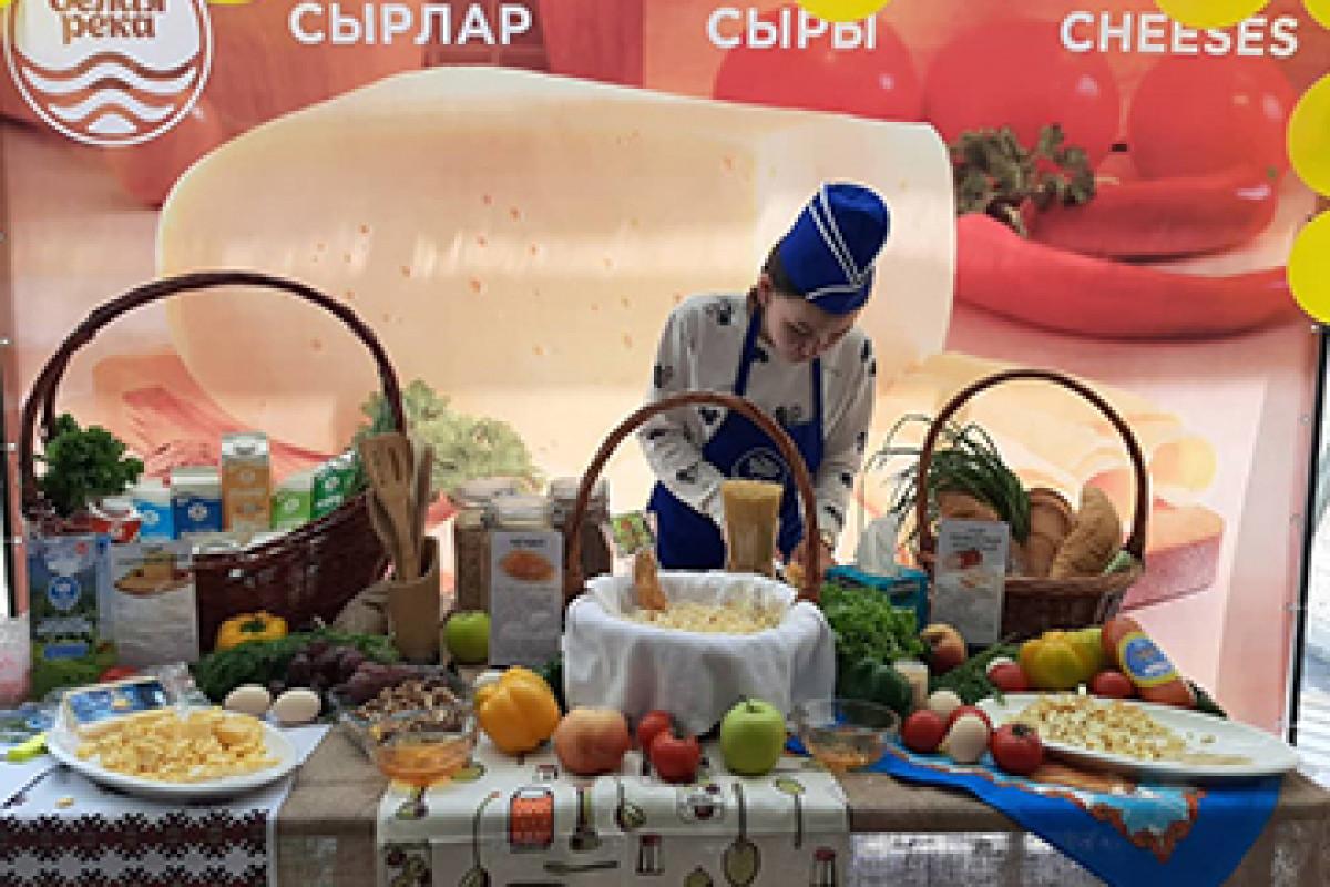 Первое место на фестивале сыра!