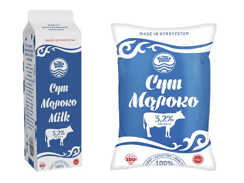 Молоко питьевое пастеризованное 3,2% 1 л