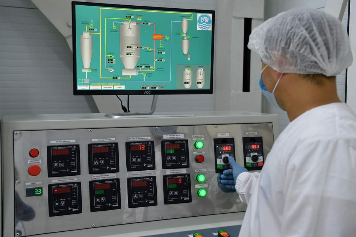 Новый молочный завод в Кара-Балте