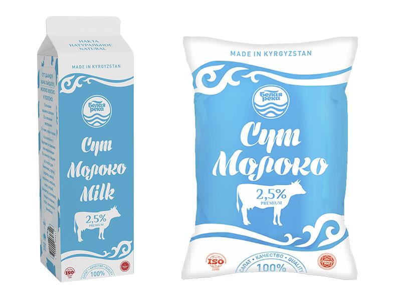 Молоко питьевое пастеризованное 2,5% 1 л