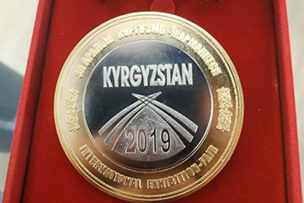 ОсОО «Кант-Сут» получила золотую медаль!